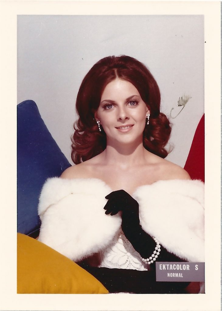 Imagem de uma Shirley Card da Kodak 1974