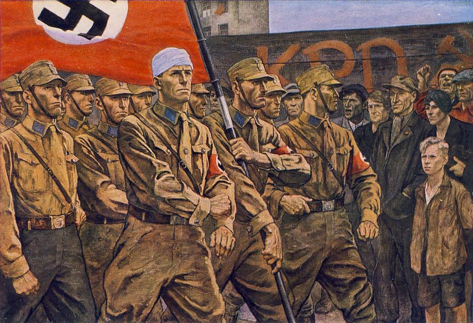 Os nazistas desarmaram o povo?
